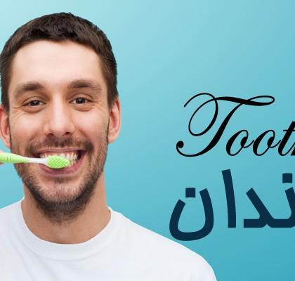 """کلمات و عبارتهایی کاربردی مربوط به """"دندان"""""""
